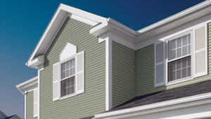 Picture of Siding on a House